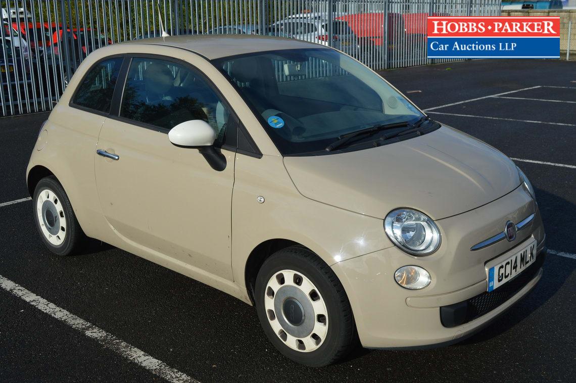 Fiat / 500 Colour Therapy / Hatchback 3 Door / Beige / 1242cc
