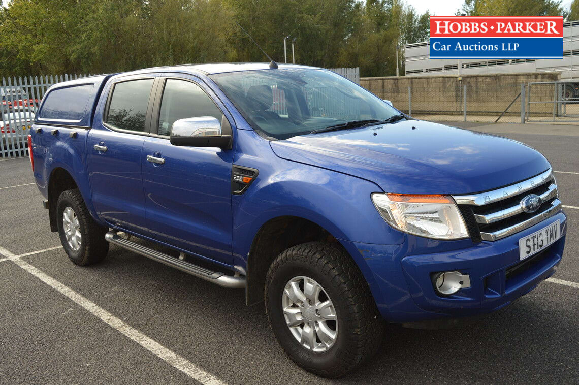Ford / Ranger XLT 4X4 TDCi / Pick-up / Blue - VAT / Diesel / Manual / 2198cc / 112060 miles