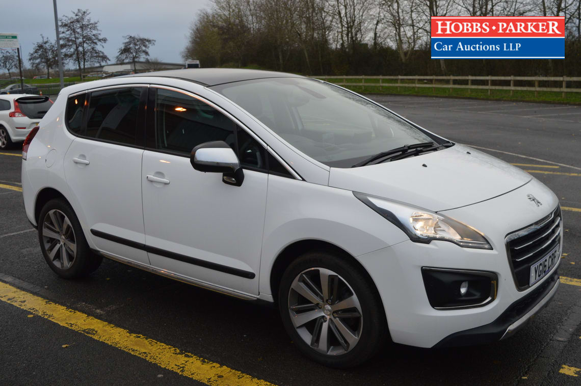 Peugeot / 3008 Allure Blue HDI S/S / Hatchback 5 Door / White / 1560cc