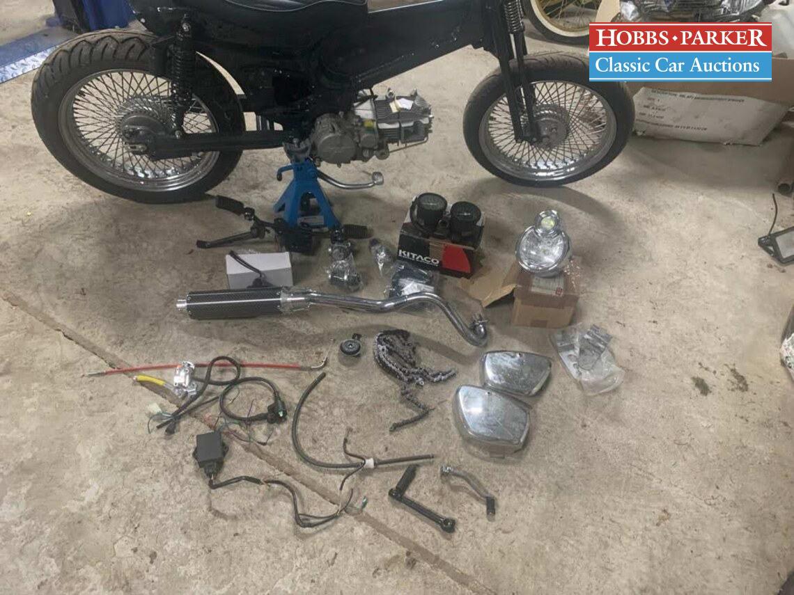 Honda / Custom Cub / Motorcycle / Flaked / Petrol / Manual / 150cc / miles