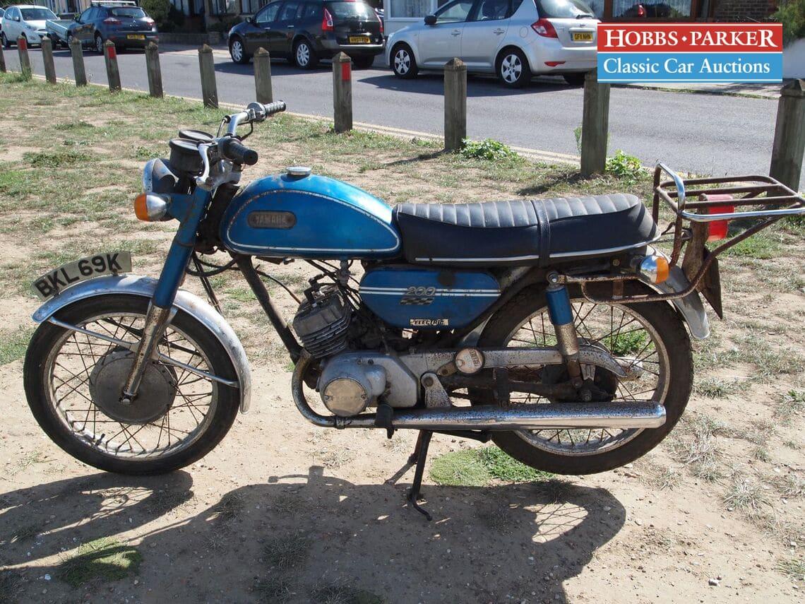 Yamaha / CS3-E / Motorcycle / Blue / Petrol / Manual / 200cc / 43000 miles