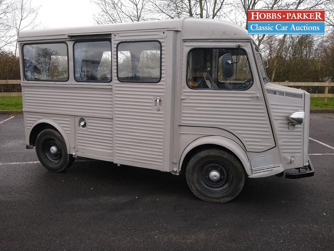 Citroen / HY Van Camper Van Conversion / Van / Grey / Diesel / Manual / 1900cc / 65665 miles