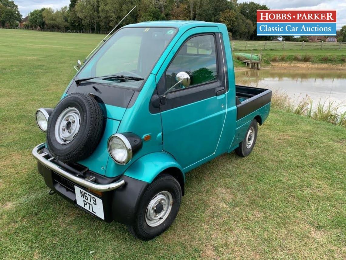 Daihatsu / Midget II Pick Up / Pick-up / Green / Petrol / Manual / 650cc / 95576 miles