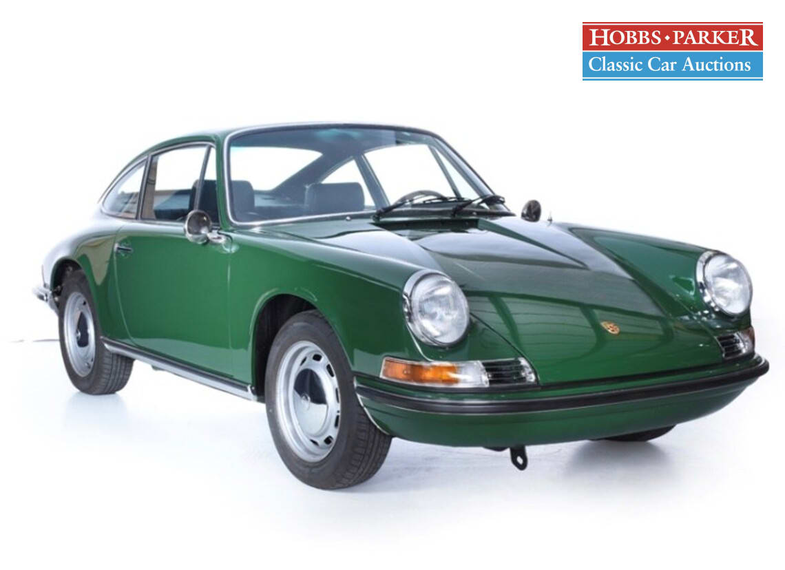 Porsche / 911 T / Coupe / Irish Green / Petrol / Manual / 2200cc / 500 miles