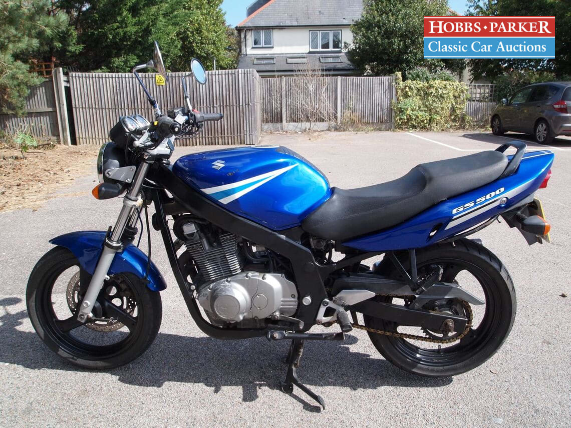 Suzuki / GS 500 K5 / Motorcycle / Blue / Petrol / Manual / 487cc / 35700 miles