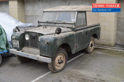 1960 Land Rover Series 2