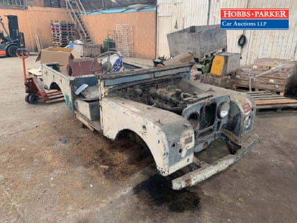 Land Rover Series 1 Chassis