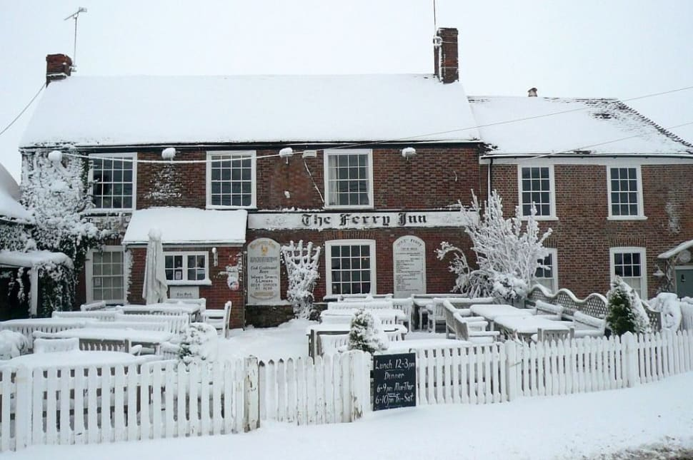 The Ferry Inn Winter