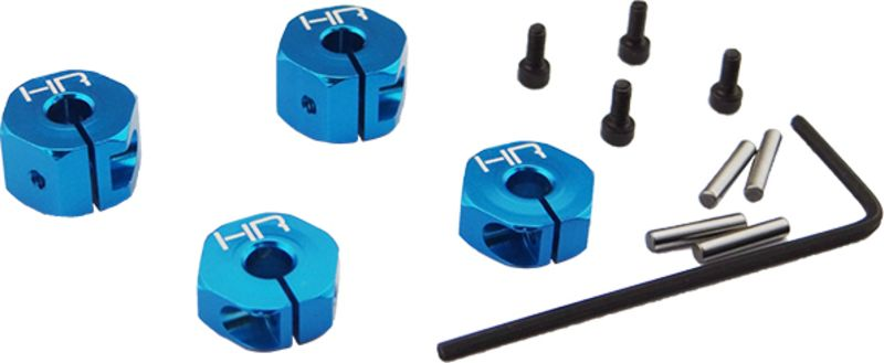 Hot-Racing ECT1906 Blue Aluminum Caster Blocks ECX New!