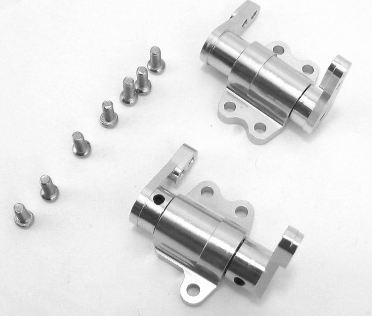 Hot Racing Tamiya F350 High Lift aluminum steering knuckles HL2108