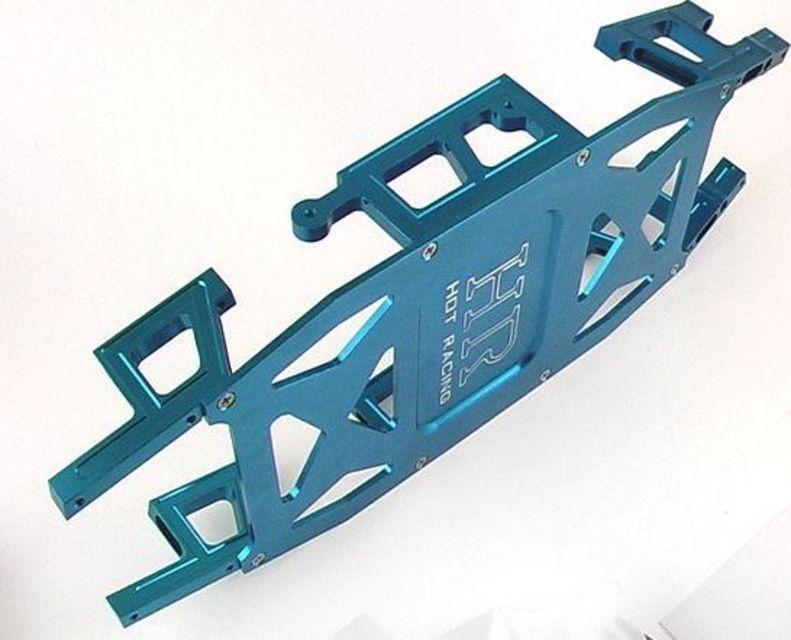 2 Lst Hot Racing LST1906 Blue Alum C-hub