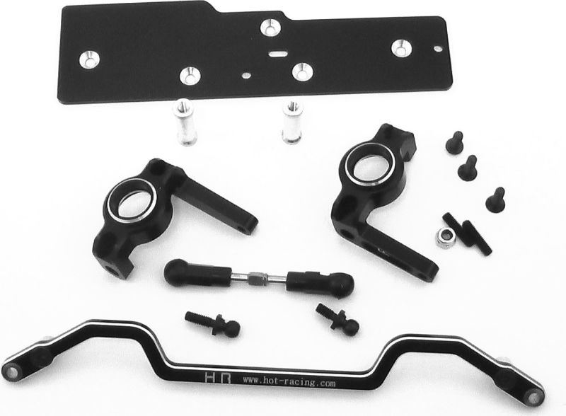 Hot Racing SCP48921 Axial AX10 Behind Axle Max Steering System Kit