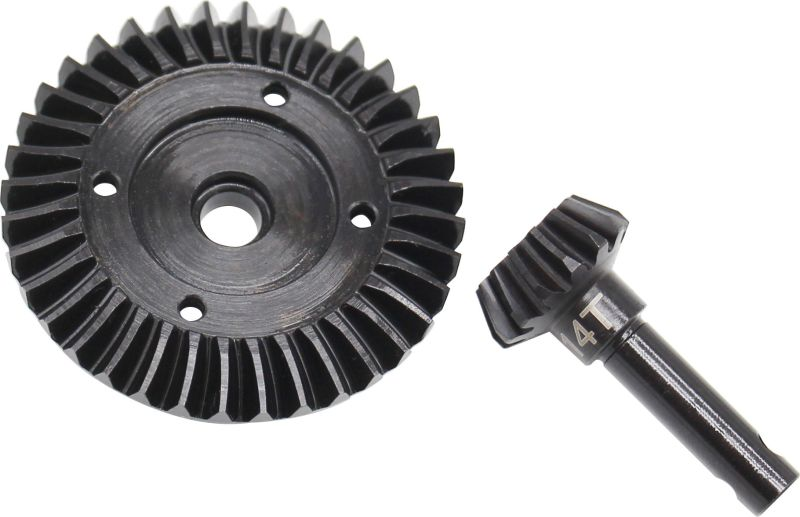 Hot Racing SWRA9383 Steel Spiral Ring Pinion Diff Gear 38T//13T Axial SCX10 SMT10
