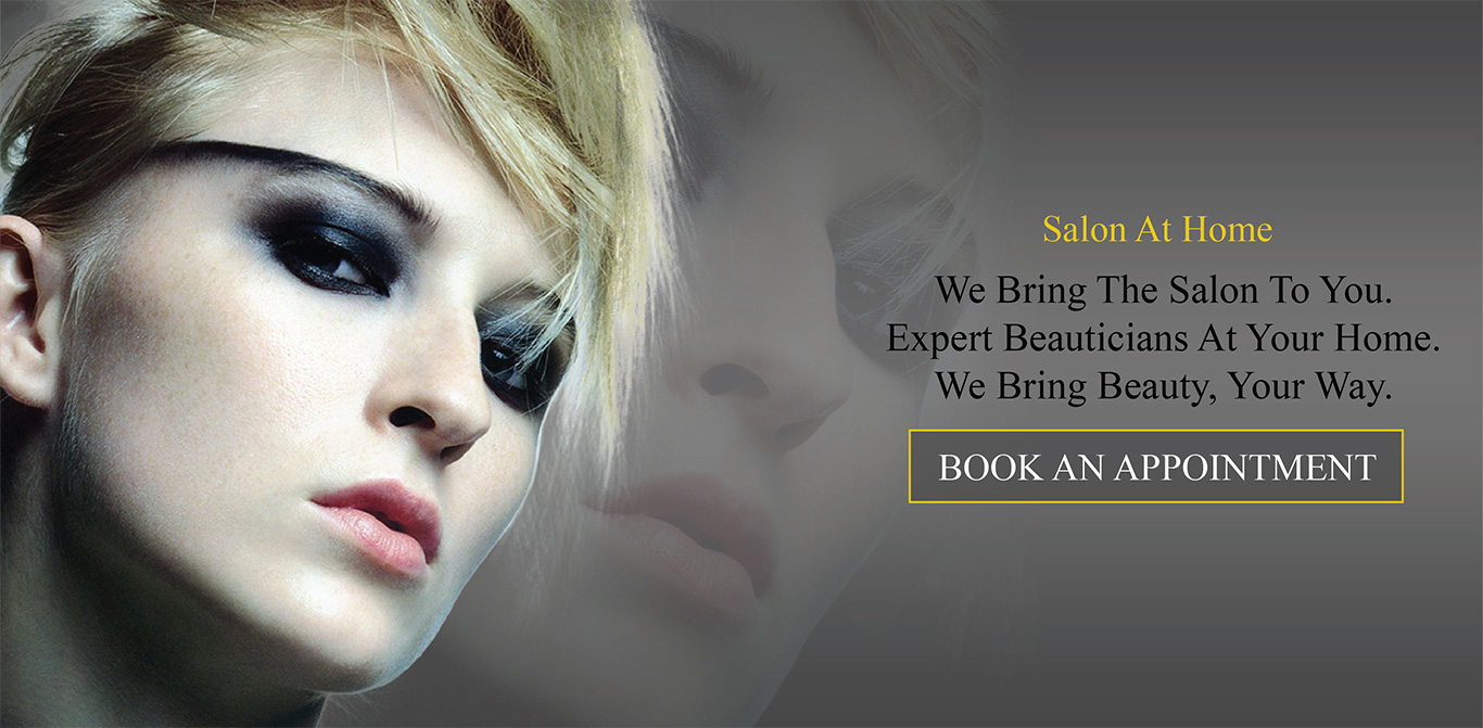Book professional beauty salon services online at your doorstep