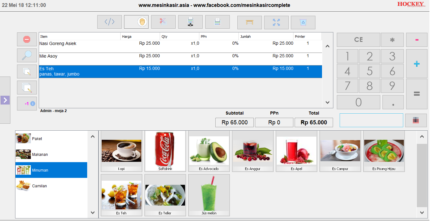 software restoran program kasir restoran lengkap