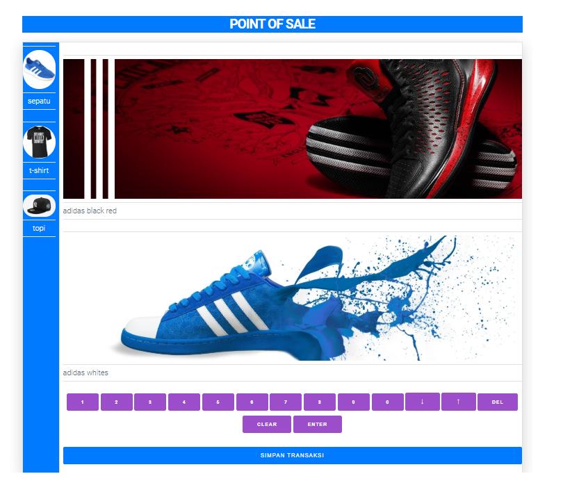 penjualan kasir point of sale keren aplikasi kasir online murah terbaru