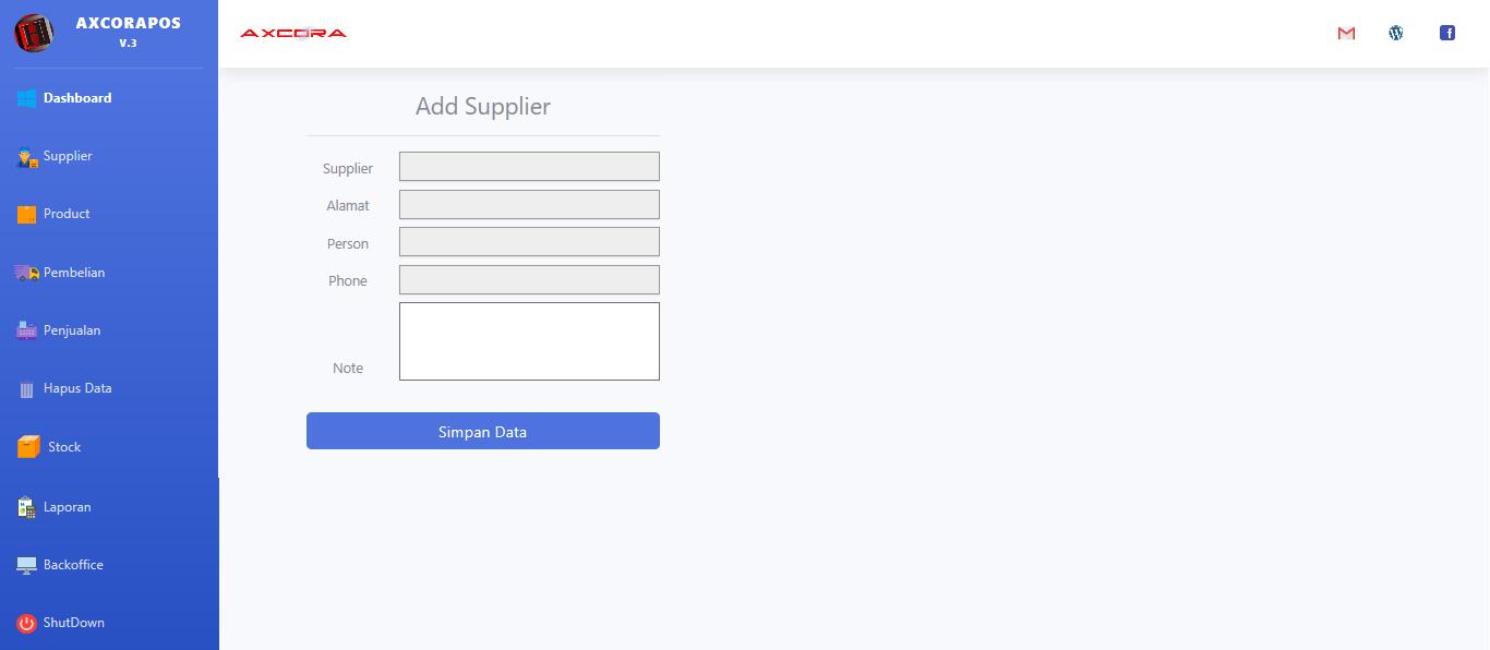 supplier aplikasi kasir ONLINE android iphone windos