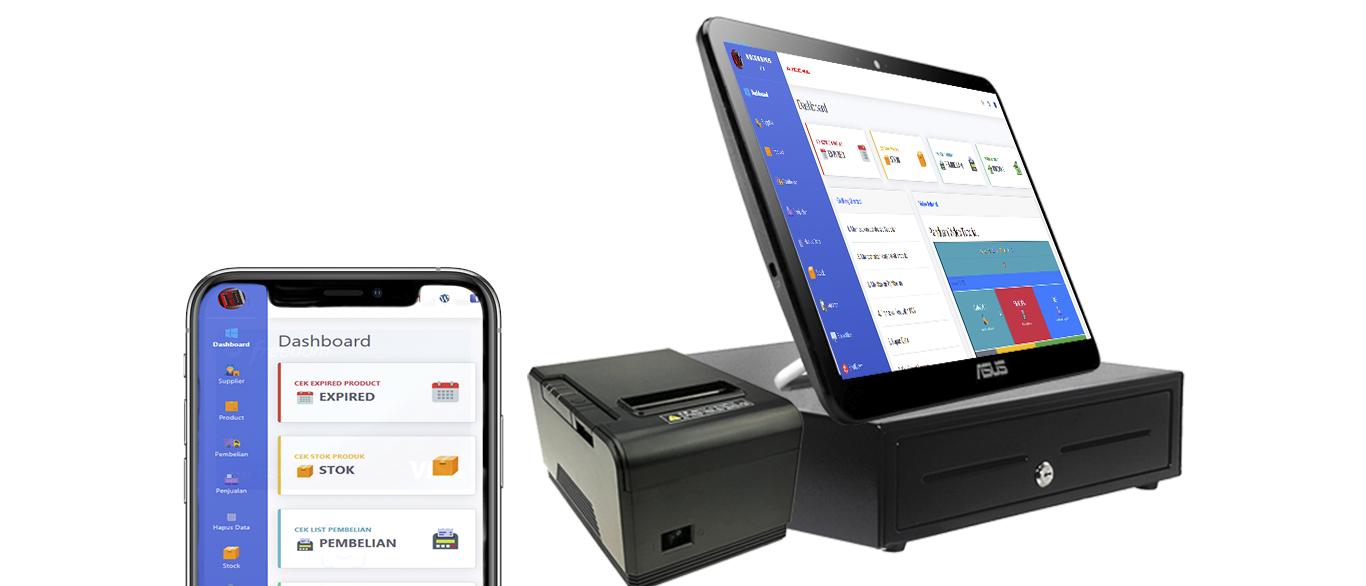 multi device platform aplikasi kasir ONLINE android iphone windos