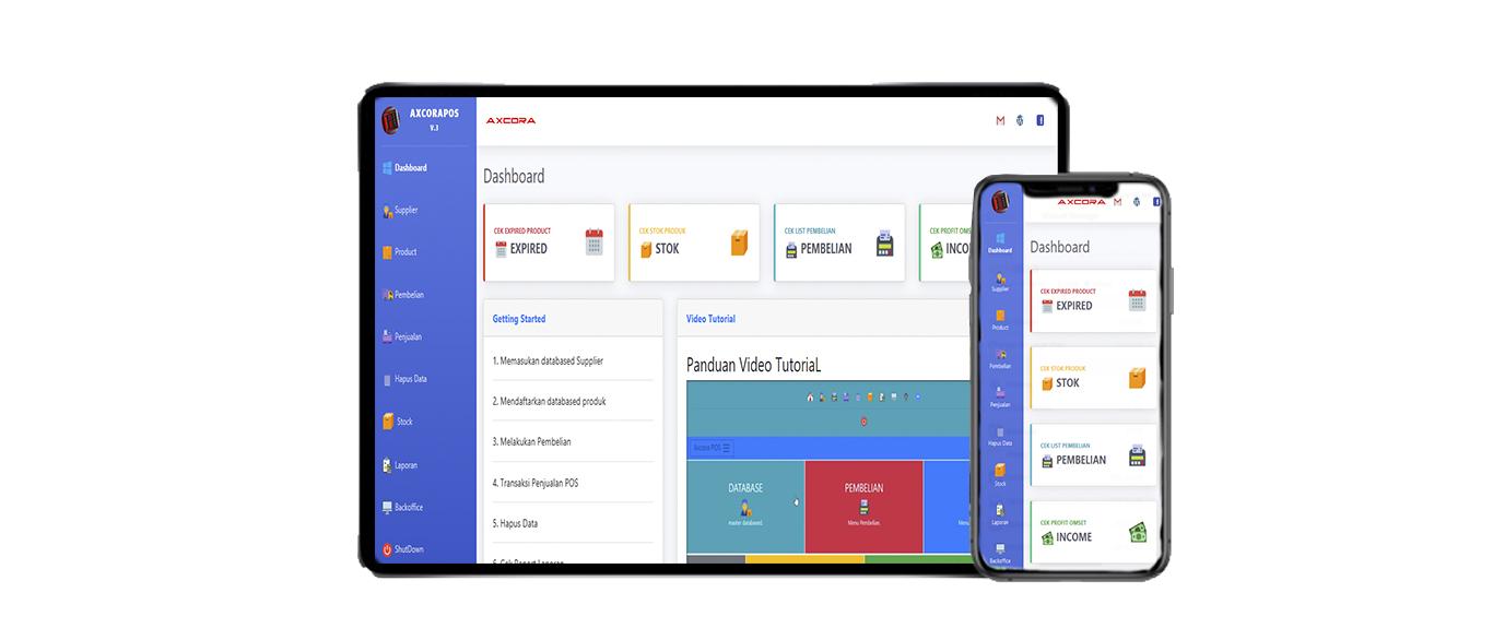 aplikasi kasir ONLINE android iphone windos