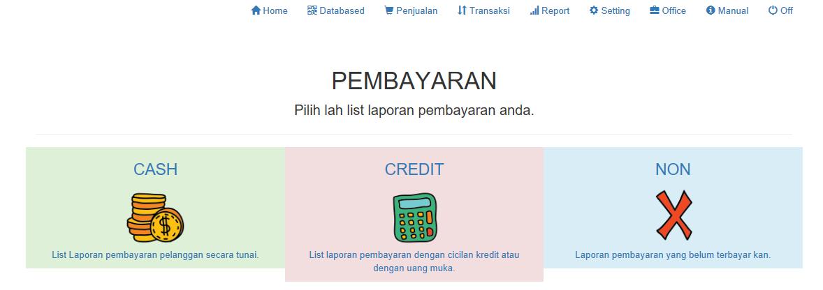 pembayaran aplikasi kasir ONLINE android iphone windoWs