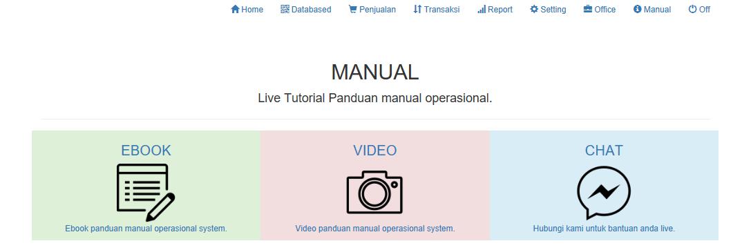tutorial cara belajar aplikasi kasir ONLINE android iphone windoWs