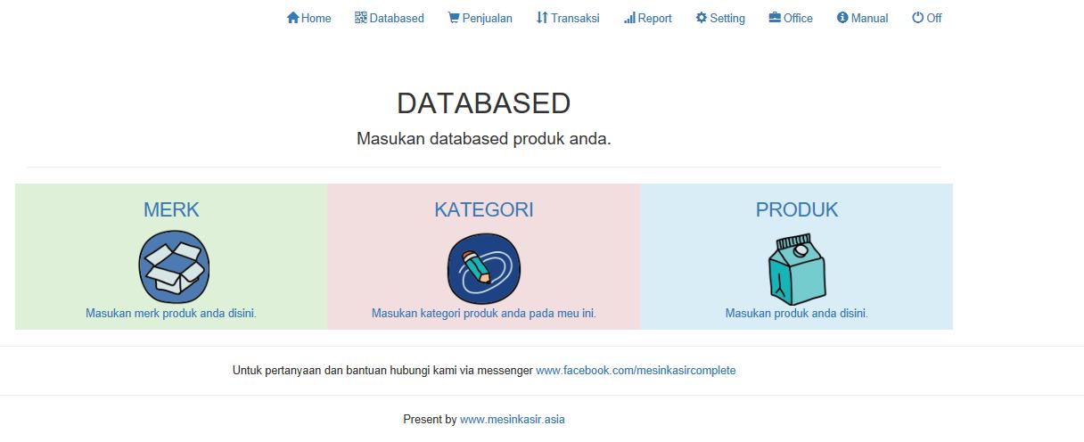 databased aplikasi kasir ONLINE android iphone windoWs