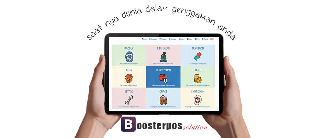 aplikasi kasir ONLINE android iphone windoWs