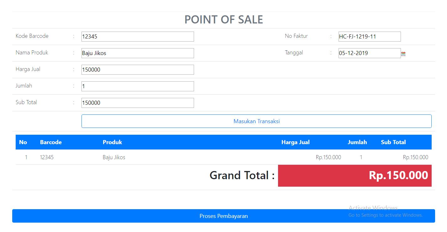 penjualan kasir point of sale aplikasi kasir ONLINE android iphone windoWs