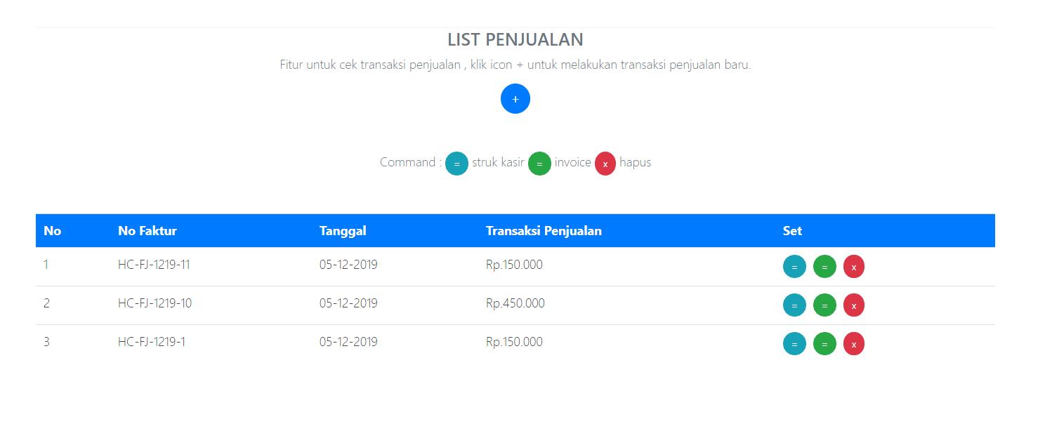 list penjualan aplikasi kasir ONLINE android iphone windoWs