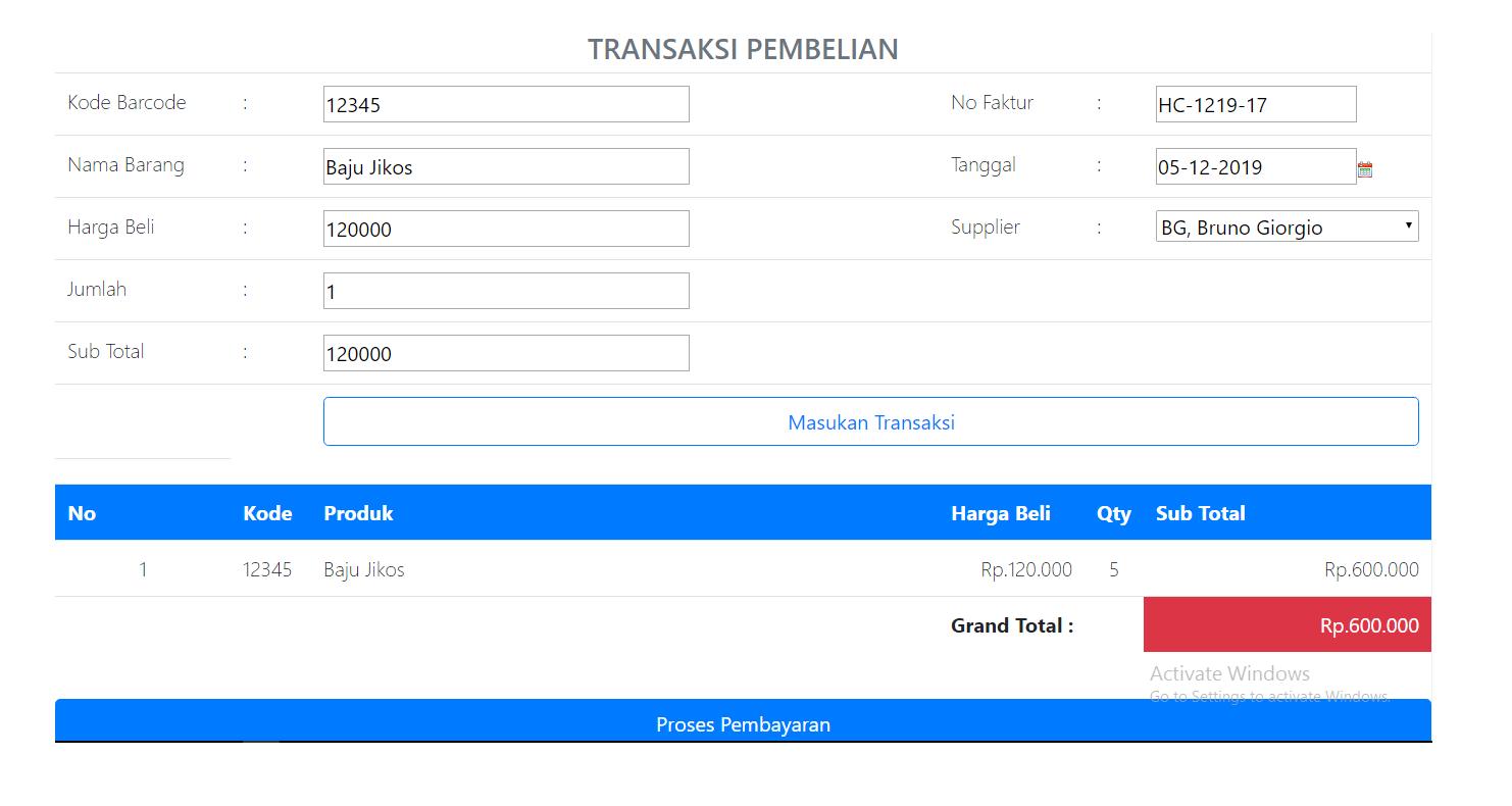 pembelian aplikasi kasir ONLINE android iphone windoWs