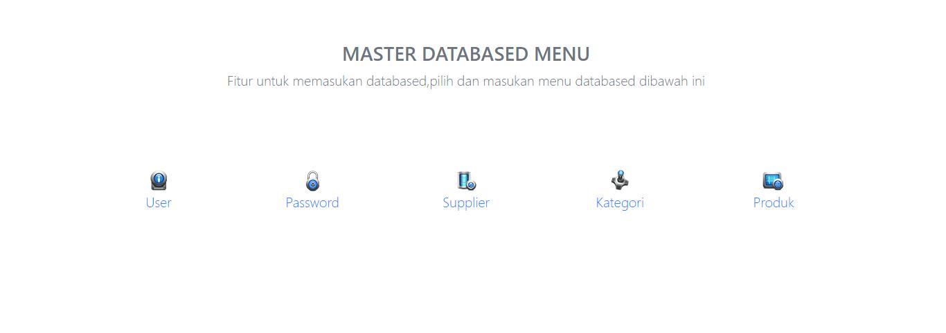 master database aplikasi kasir ONLINE android iphone windoWs