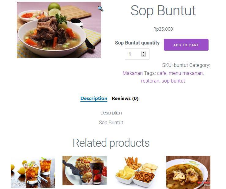 aplikasi android iphone restoran cafe dan toko online shop website resto cafe