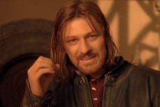 movie lord of the rings sean