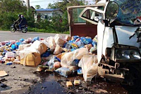 Five days of traffic accident at the...