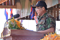 The Cambodian army tells the army to...