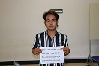 Detained a suspect for extorting...