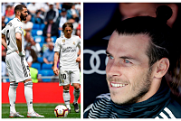 Bale seals in one game, while Real...