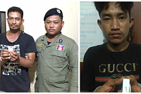 Two suspects arrested for drug...