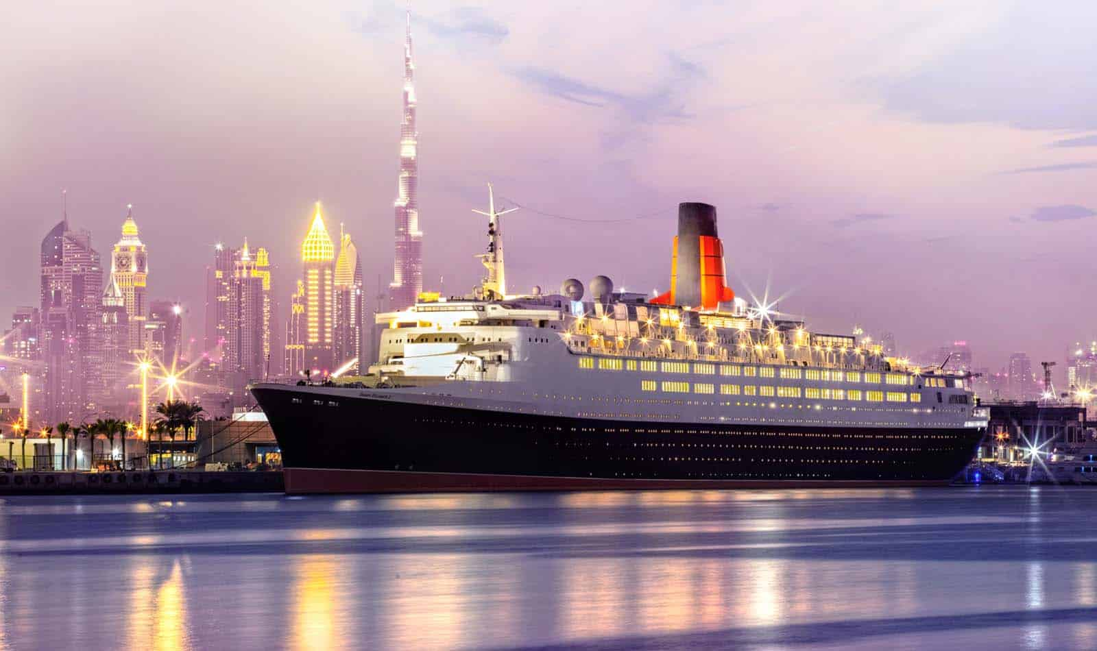 Queen Mary 2 guests to be first to board the QE2 Hotel in Dubai – Photo gallery