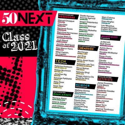50 Next: Neue weltweite Liste junger Menschen, die die Zukunft der Gastronomie mitgestalten