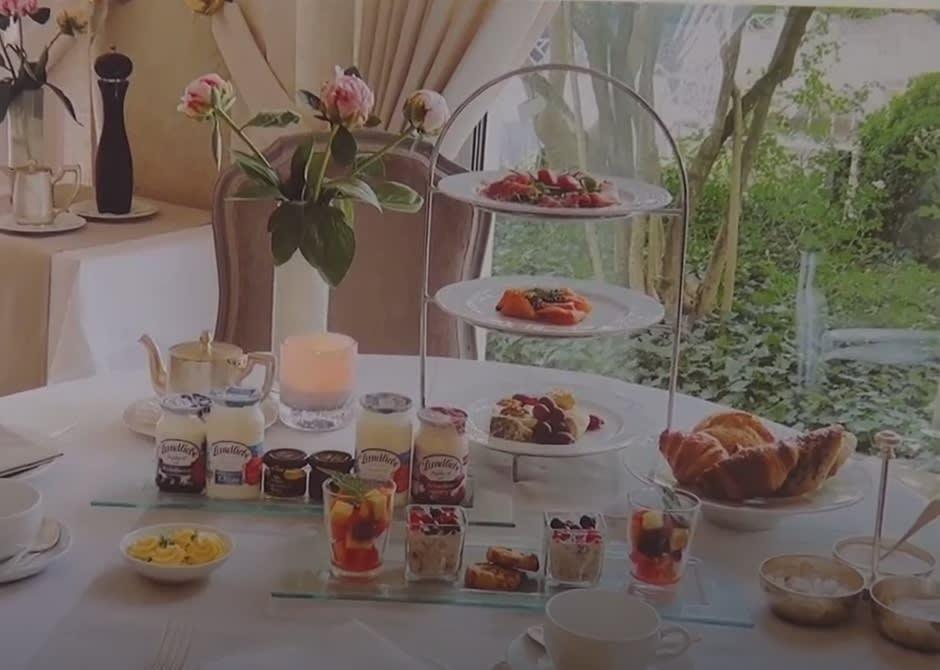 Hotel Frühstück a la carte mit Etagere im Hotel Europäischer Hof Heidelberg