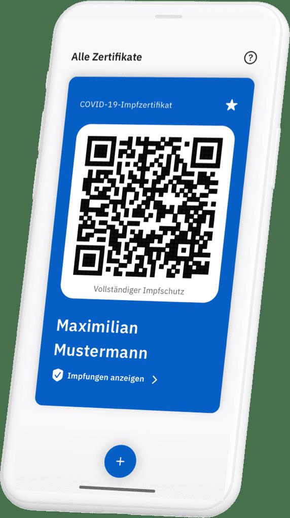 CovPass App - digitaler Impfpass