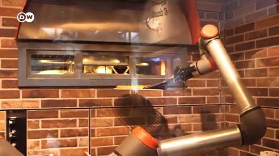 Roboter ersetzen Pizzabäcker
