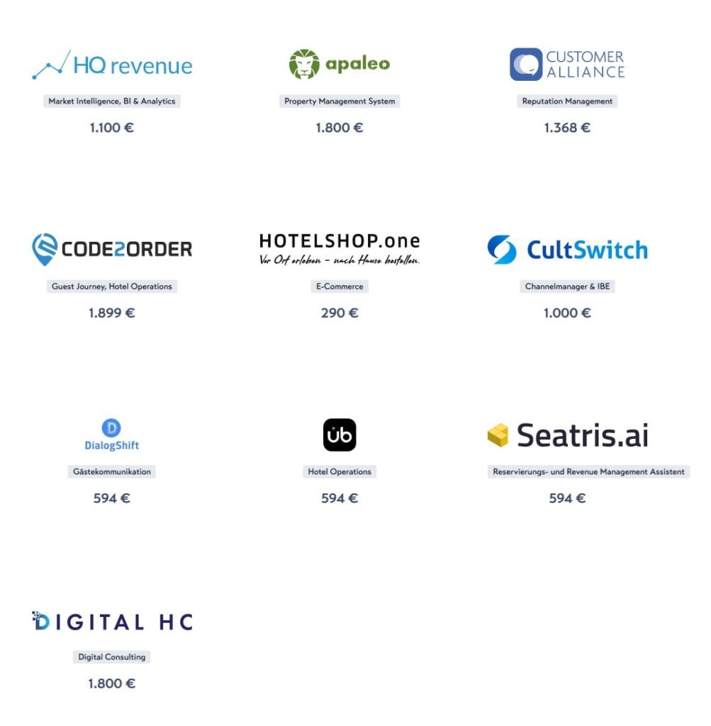 Digitales Hilfspaket für die Hotellerie