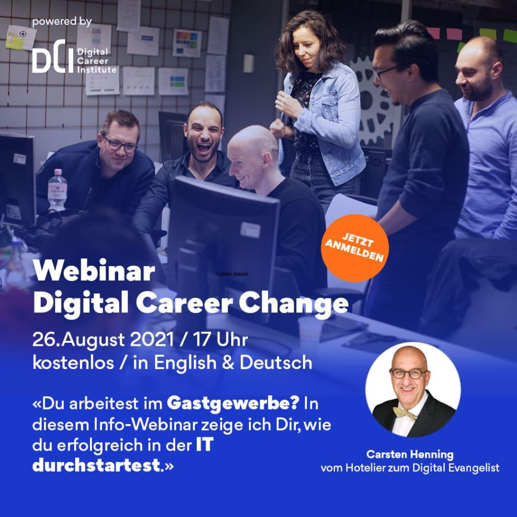 DCI Webinar: Career Change