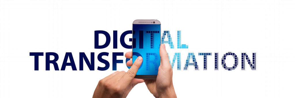 Digital Transformation - Grafik: Geralt/Pixabay
