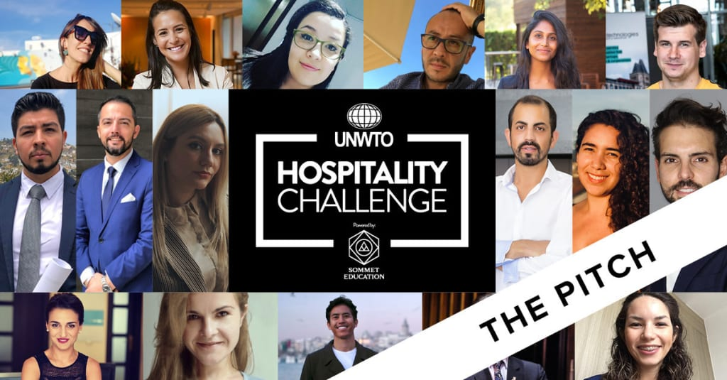 Sommet Education and UNWTO: Hospitality Challenge Pitch