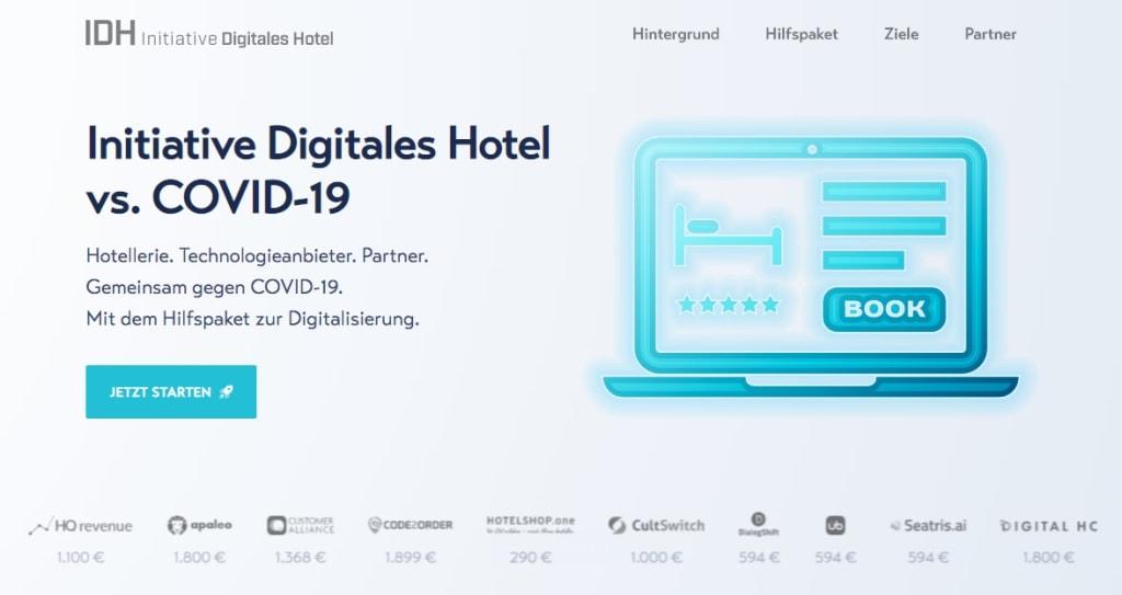 Initiative Digitales Hotel