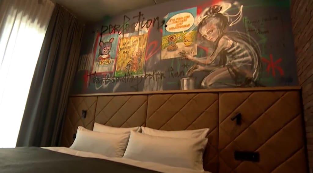 Das Street-Art-Hotel in Bayreuth