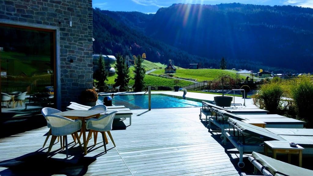 Ferienhotel in den Bergen